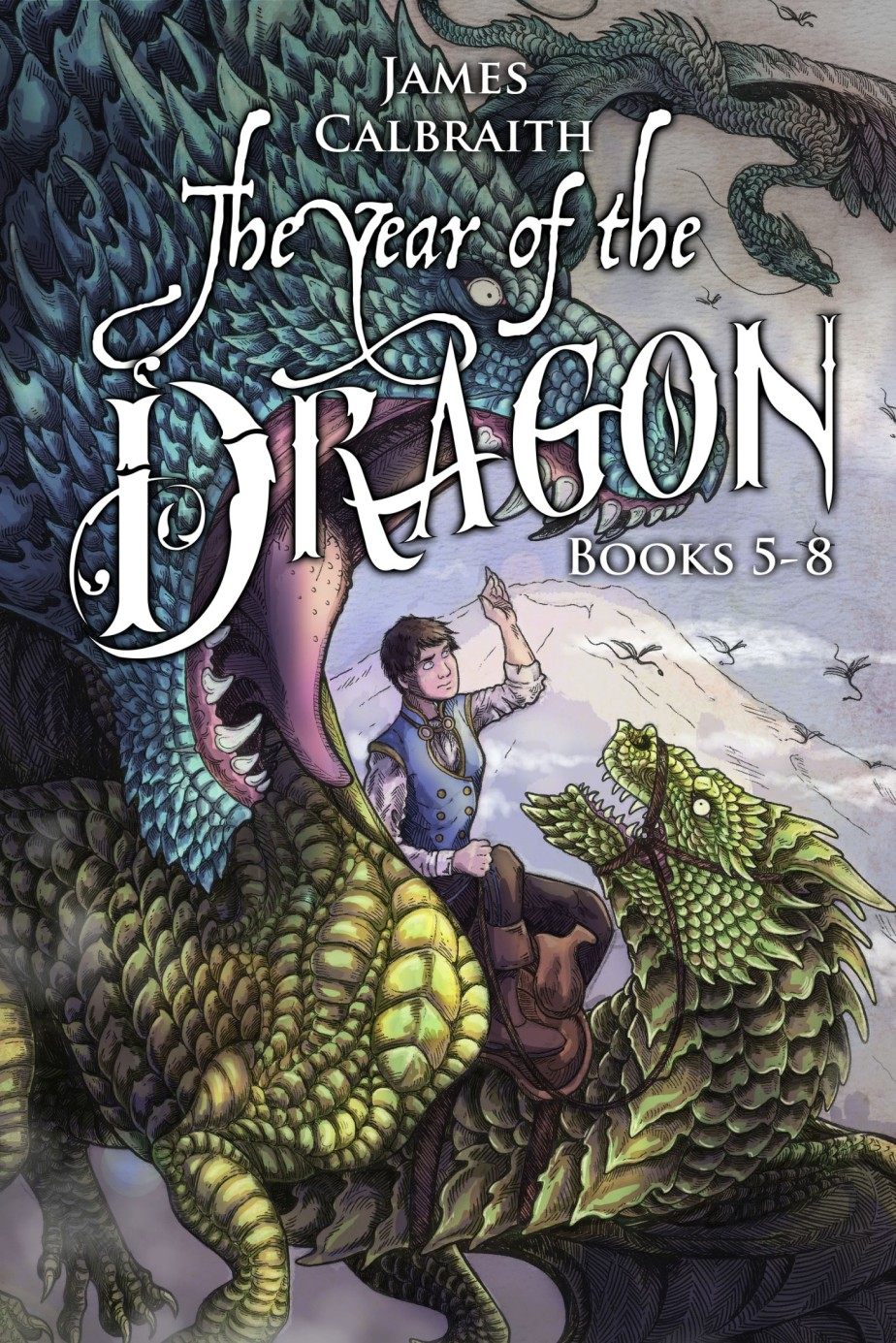 The Year of the Dragon: Second Bundle (vols. 5-8) Release!