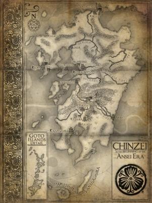 Map of Chinzei