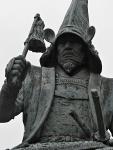 Kumamoto - monument to Kato Kiyomasa