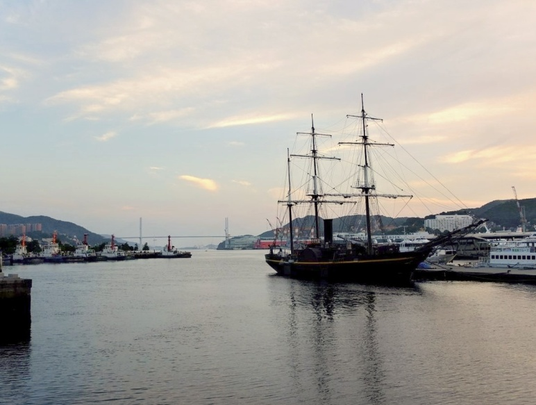 Kanko Maru at Nagasaki Harbour