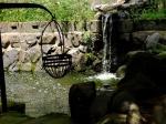 Pond at Suwa Shrine