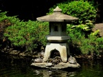 Turtle pond in Suwa Shrine