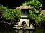Turtle pond in Suwa Shrine