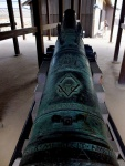 A VoC cannon in Dejima
