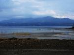 Shimabara Peninsula across Shimabara Bay
