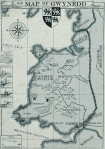 Map of Gwynedd