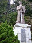Yoshida's statue in Shimoda