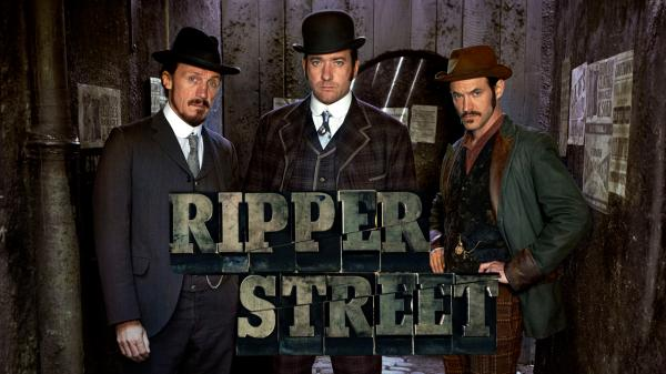 They've killed Ripper Street. The bastards.