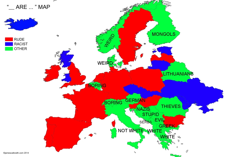 Europe by Google