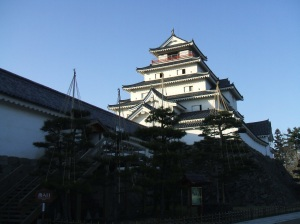 Tsuruga Castle in Aizu