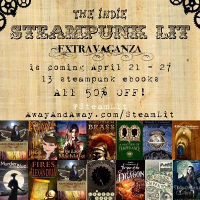 The Indie Steampunk Lit Extravaganza – starts tomorrow!