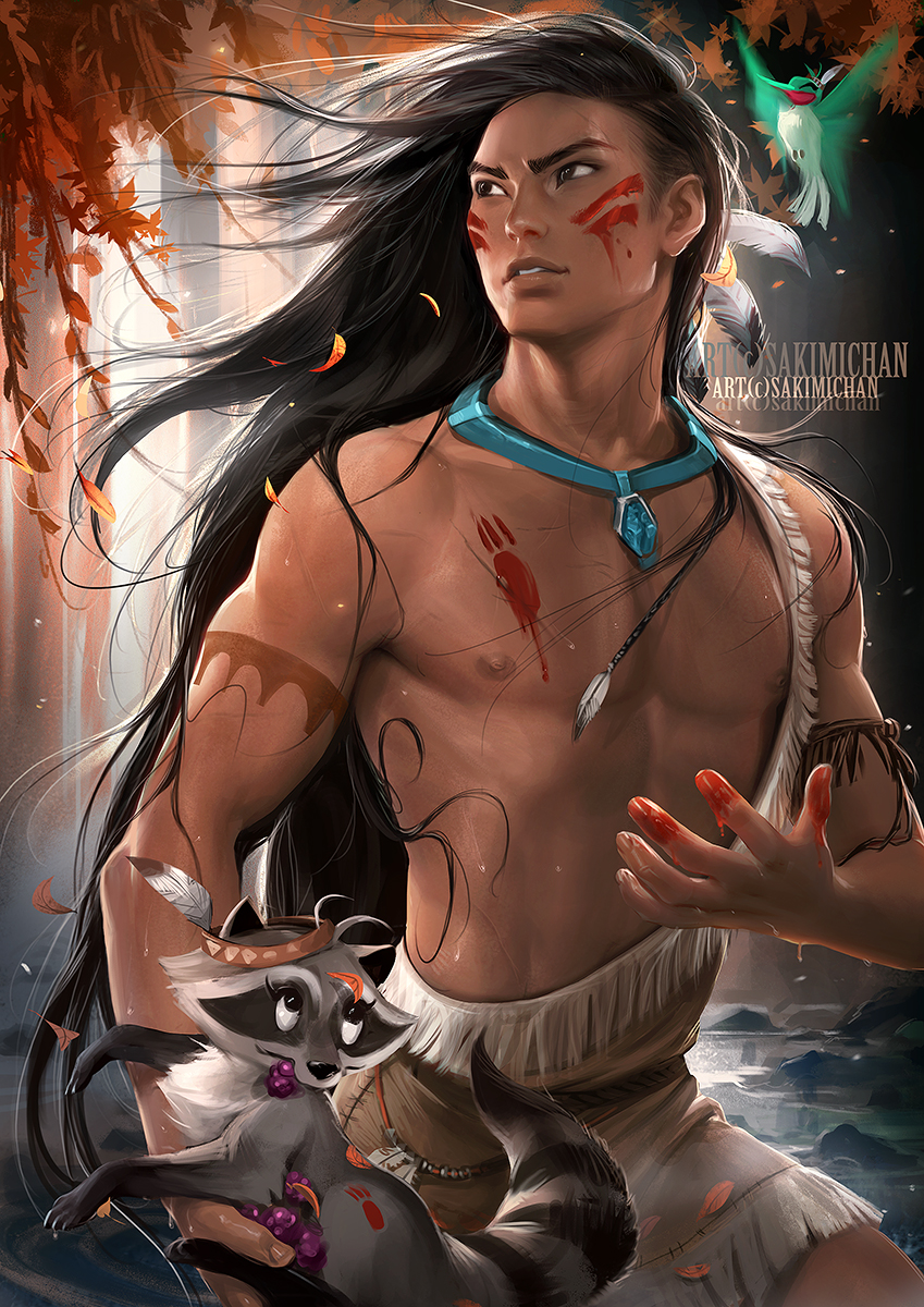 Male version of Pocahontas
