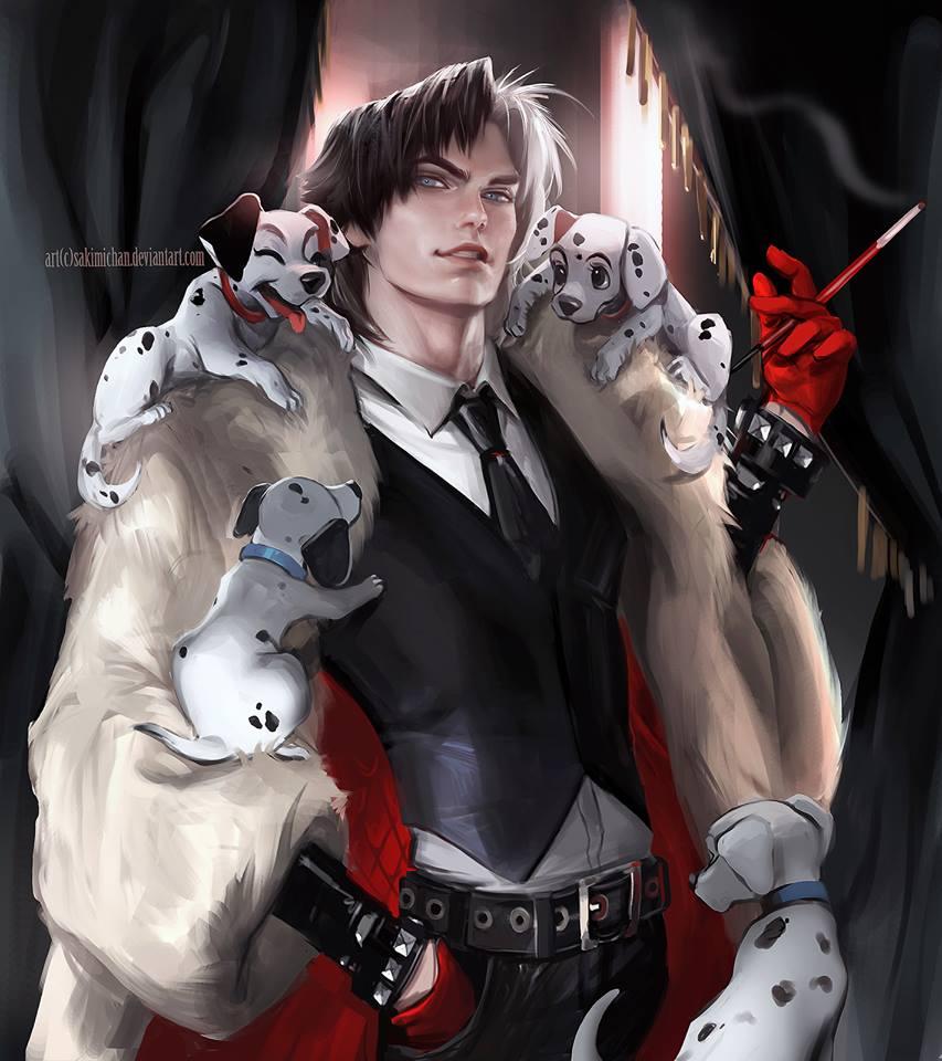 Male version of Cruella