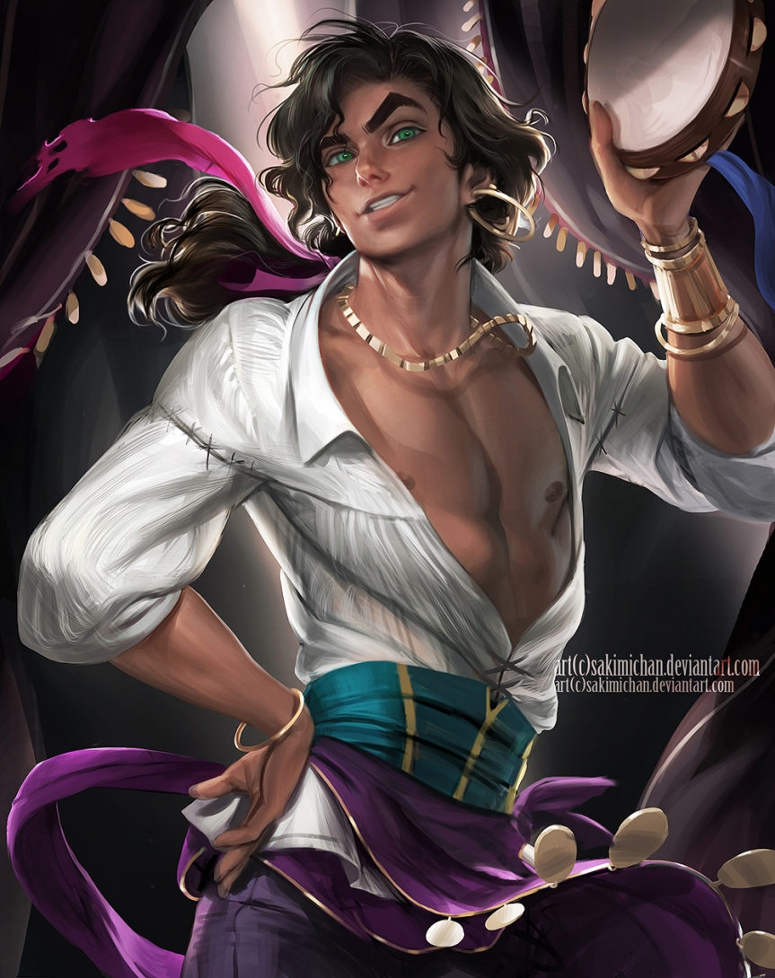 Male version of Esmeralda