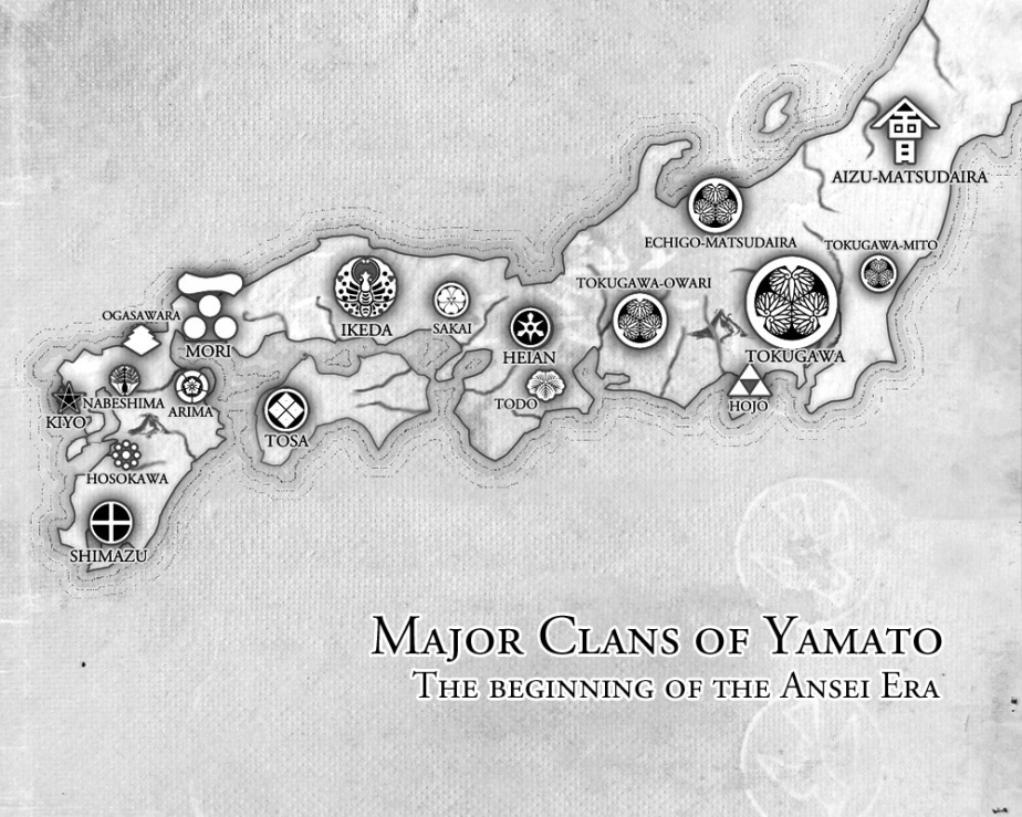 The Game of Daimyos