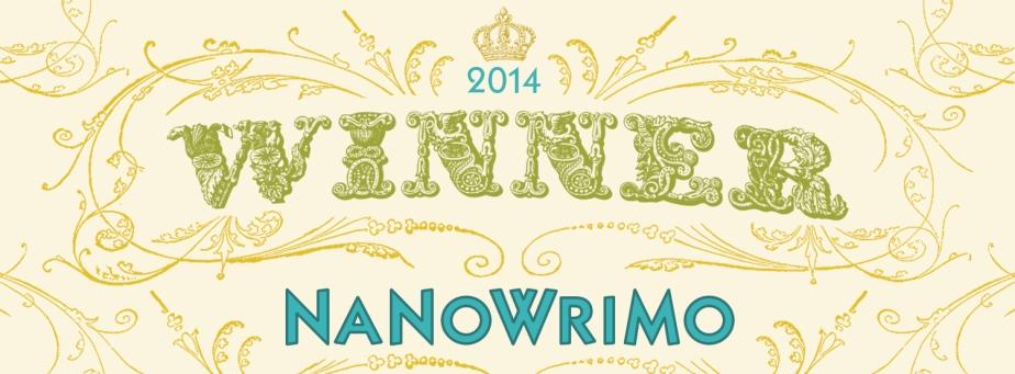 Winning #Nanowrimo 2014