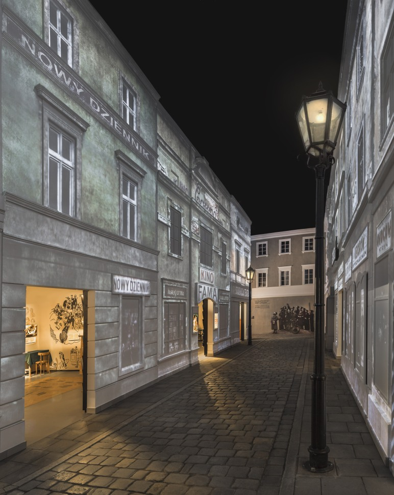 Museum_of_the_History_of_Polish_Jews_in_Warsaw_Main_exhibition_Street_01[1]