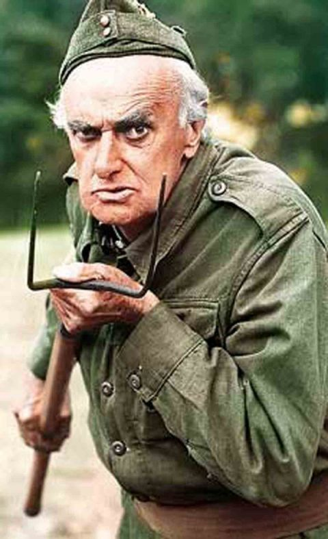 John Laurie actor from Dad's Army