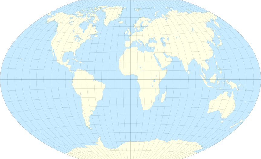World, Winkel projection